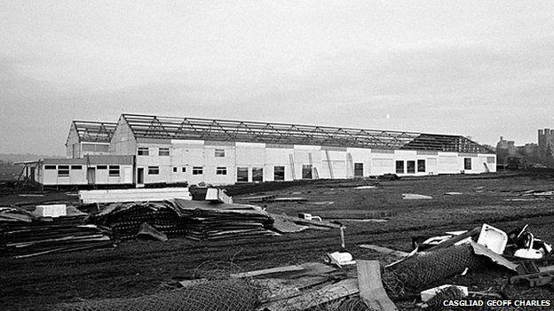 Adeiladu Pafiliwn Bangor 1971