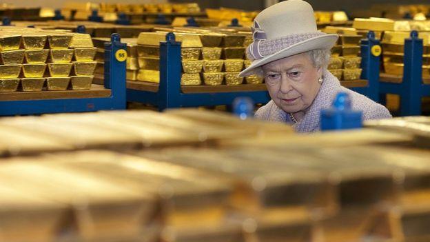 La reina de Inglaterra
