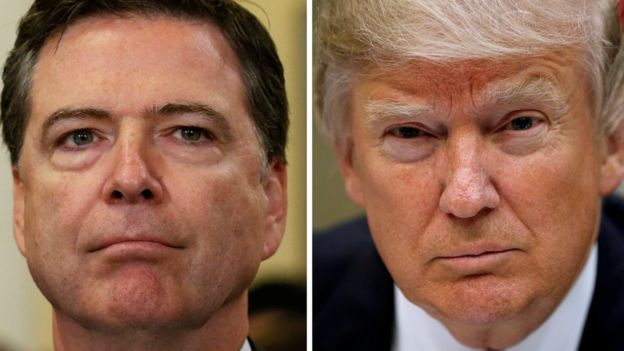 James Comey ve Donald Trump