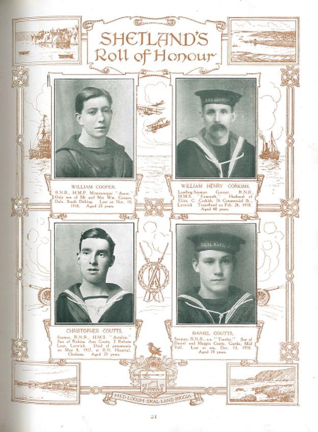 Shetland's Roll of Honour
