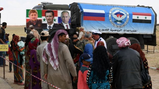 La intervención de Rusia cambió el rumbo de la guerra en Siria.