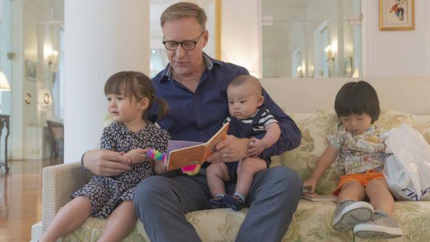เดวิดสัน พึ่งกลับจากการลาคลอด 3 เดือน หลังบุตรชายคนเล็ก เอริค เกิด