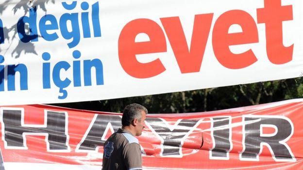evet ve hayır afişleri