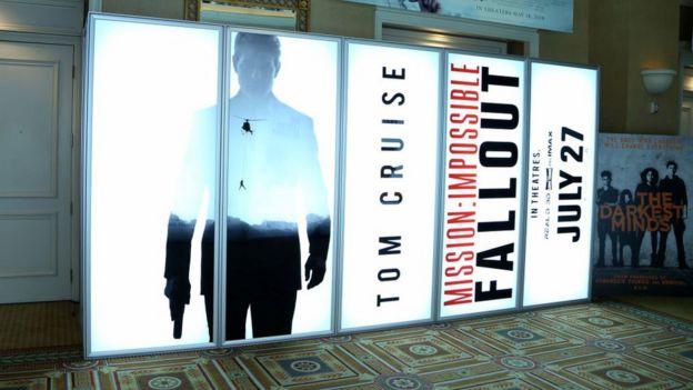Afiche de Misión imposible