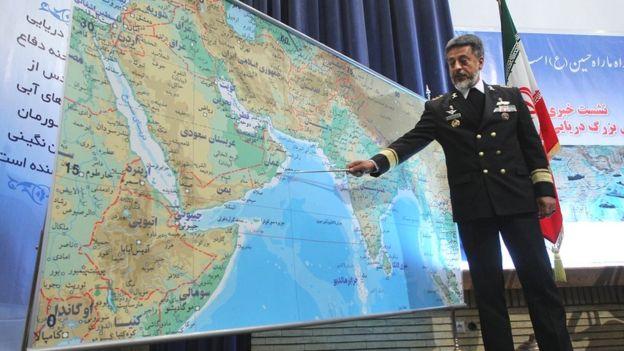 حبیبالله سیاری، فرمانده پیشین نیروی دریایی ارتش - ۱۳۸۹