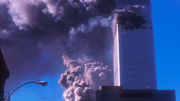 নিউ ইয়র্কের টুইন টাওয়ারে হামলা, ১১ই সেপ্টেম্বর, ২০০১