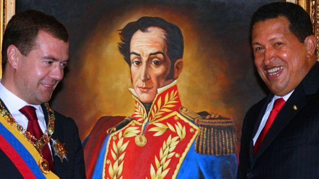 قاد بوليفار حركة الاستقلال في فنزويلا وعدد من بلدان أمريكا اللاتينية