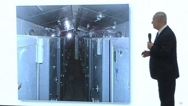 Документы хранились в этих сейфах, сказал премьер-министр Израиля