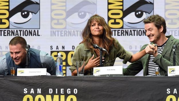 Channing Tatum, Halle Berry ve Pedro Pascal