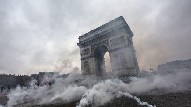 Paris'teki eylemler
