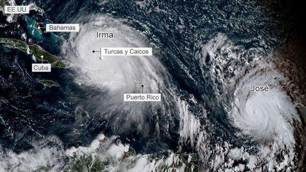 Irma y José el 7 de septiembre