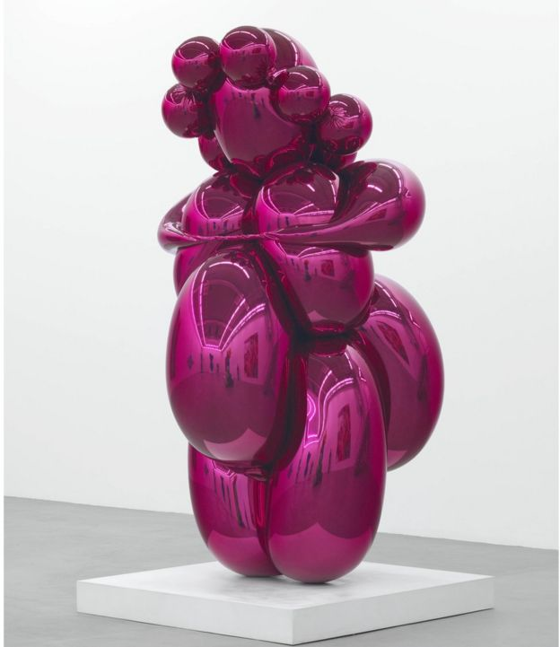 Will Gompertz reviews Jeff Koons at the Ashmolean Museum in