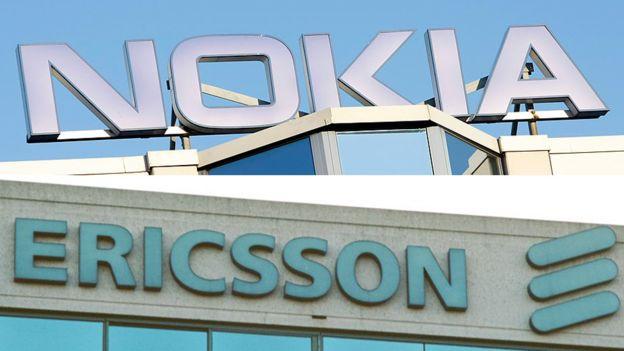 Nokia y Ericsson