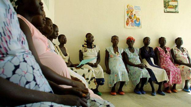 Mujeres embarazadas en Etiopía