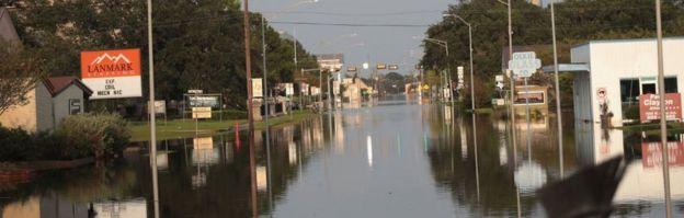 Una inundación
