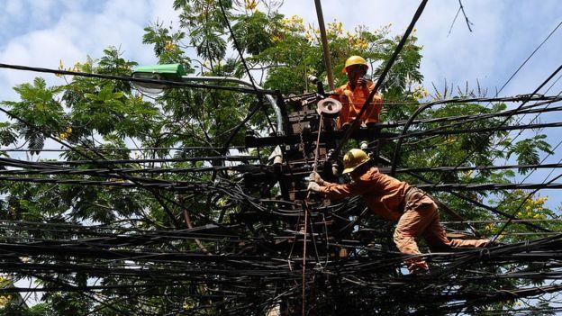 Ngành điện được cho là đóng góp lớn vào ô nhiễm không khí của Hà Nội