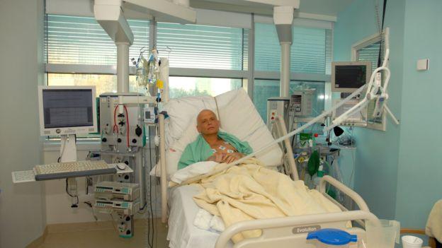 Александр Литвиненко в больнице