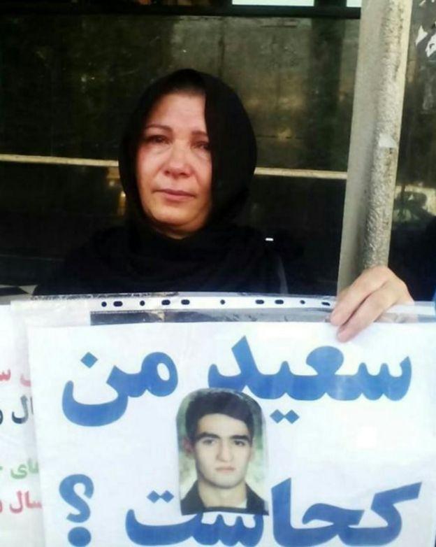 مادر سعید زینالی