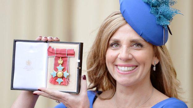 Nicola Mendelsohn with her CBE