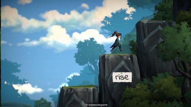 普纳谢撰写制作的《失落在页面外的文字》(Lost Words Beyond the Page)是一种有智力解谜和奇幻内容的电子游戏。