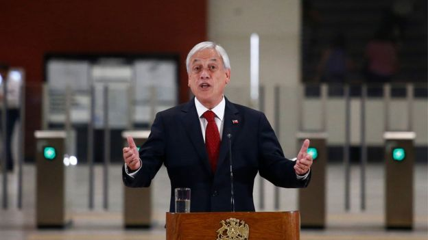 Presidente do Chile, Sebastian Piñera