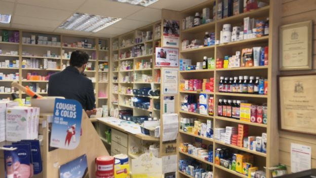 How pills bought online are scarring Scotland's rural villages - BBC