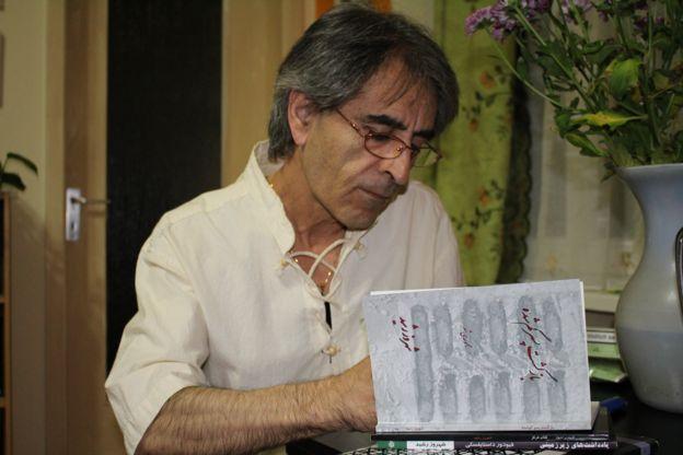 شهروز رشید، شاعری که روز شنبه ۱۳ بهمن، پس از یک دوره بیماری در بیمارستانی در برلین درگذشت