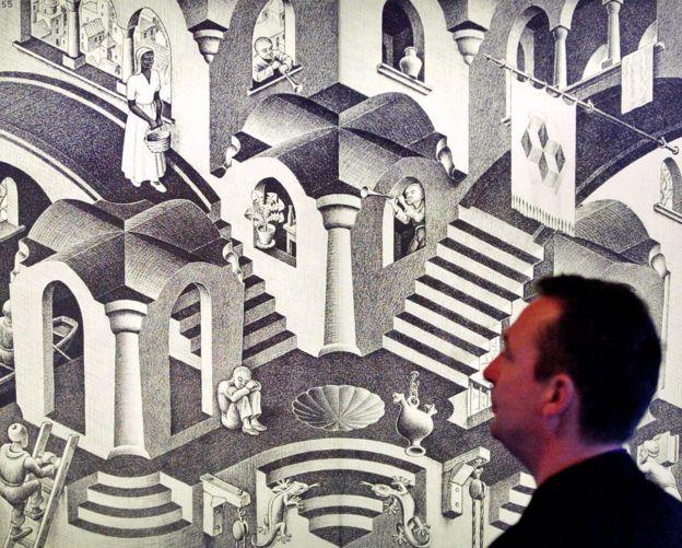 obra de M.C. Escher