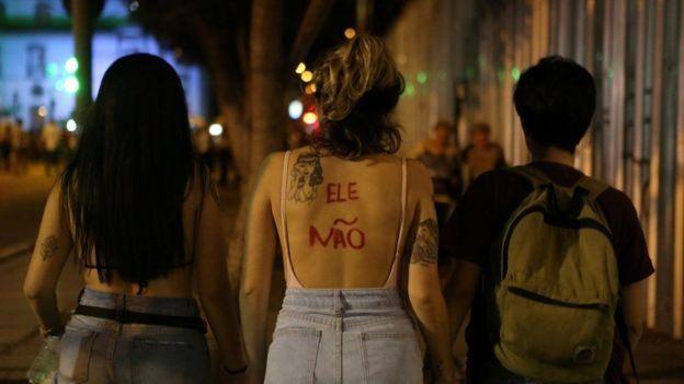 تظاهرات زنان برزیل