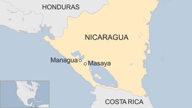 Mapa Masaya