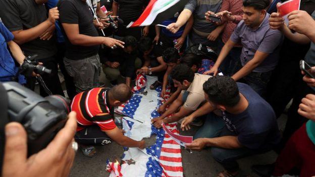 Protes di Baghdad