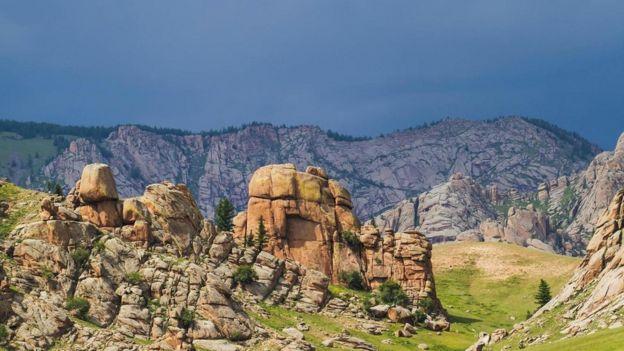 Montanhas Khentii