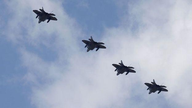 aviones de Estados Unidos.