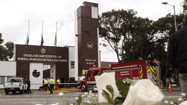 Escuela de Policía General Santander.