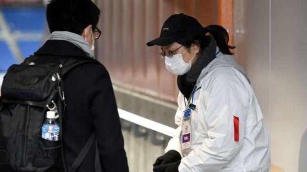 Japonya'da maske takanlar