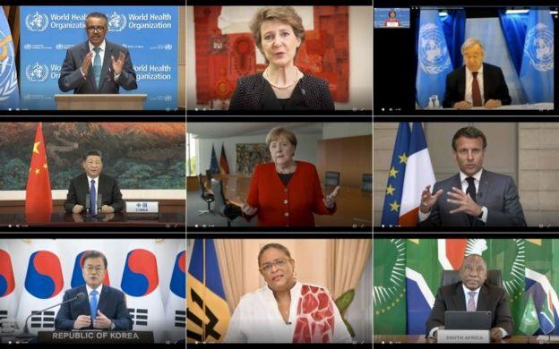نشست مجازی مجمع جهانی بهداشت