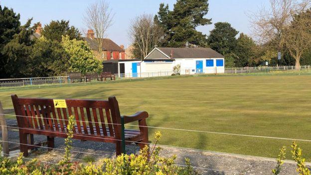 Sân của Câu lạc bộ bowling địa phương