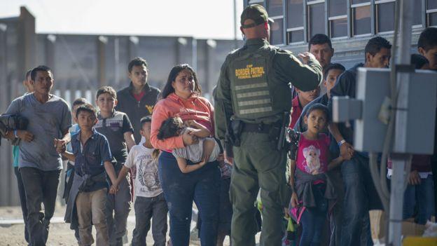 Migrantes detenidos