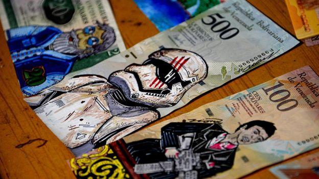 Resultado de imagen para dolar bolivar billete