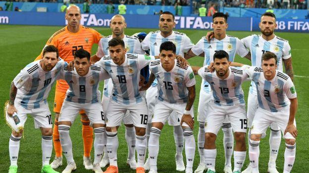 阿根廷世界杯代表队