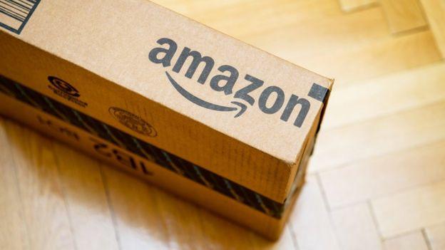 Caja de Amazon.