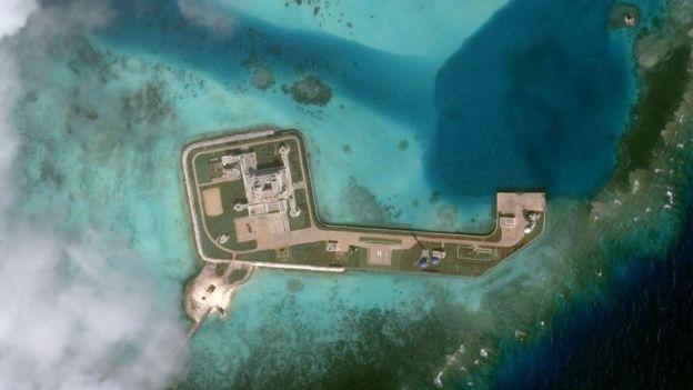 Đá Tư Nghĩa (Hughes Reef) thuộc quần đảo Trường Sa