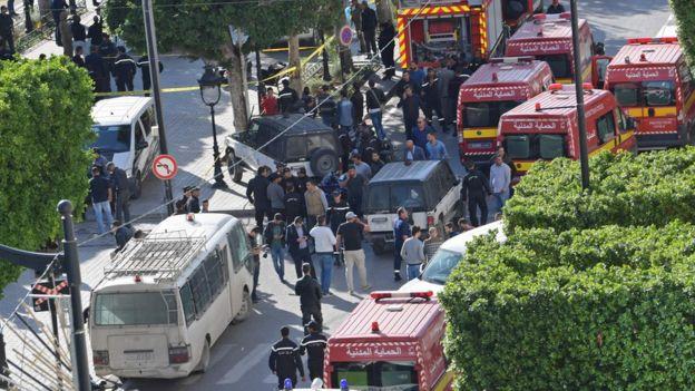 طوقت الشرطة موقع الانفجار