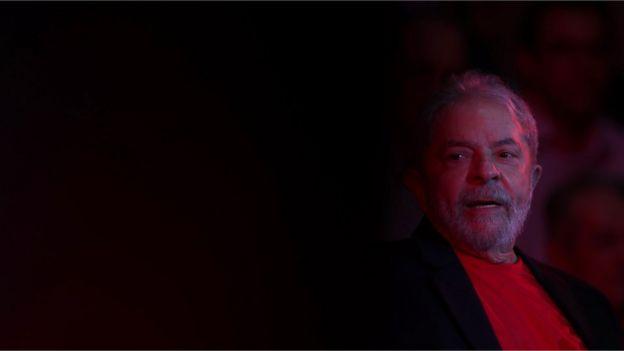 O ex-presidente Lula, preso em Curitiba há 3 meses