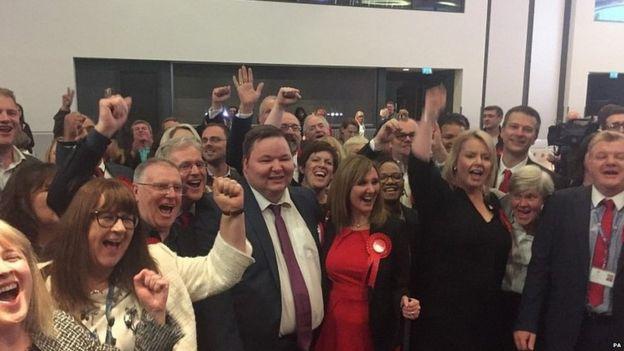 Trafford sayımı sonrası İşçi Partililer