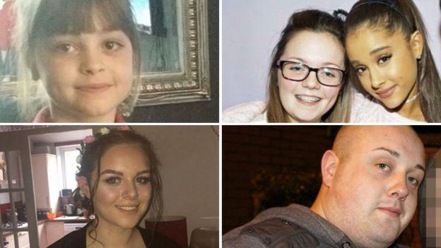 بعض ضحايا هجوم مانشستر