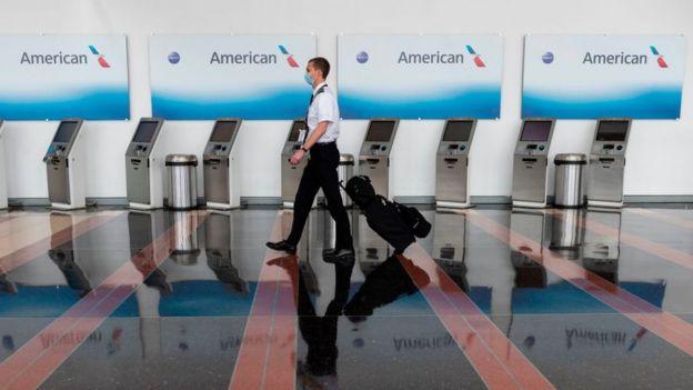 Стойки регистрации American Airlines
