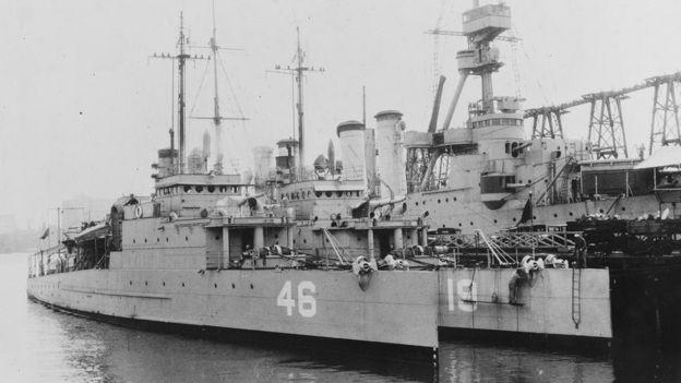 El USS Eagle PE-46, barco hermano del USS Eagle PE-56