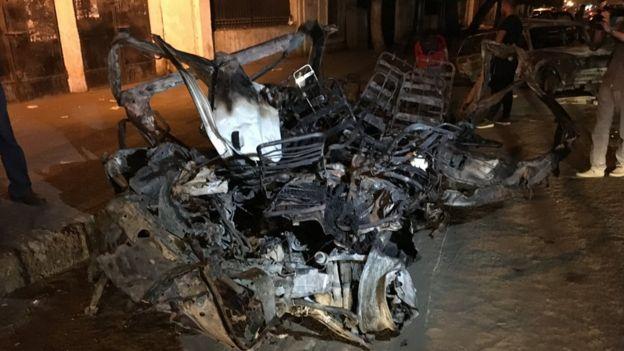 """السلطات المصرية: حادث الانفجار في القاهرة """"عمل إرهابي"""" _108190653_img_1826"""