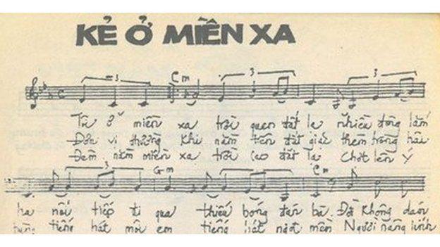 """Bài ca """"Kẻ Ở Miền Xa"""" của Trúc Phương, ghi trong Tuyển Tập Đặc Biệt Mưa Bụi 2"""